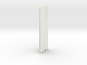 1/87 Spartan Hose 1 in White Natural Versatile Plastic