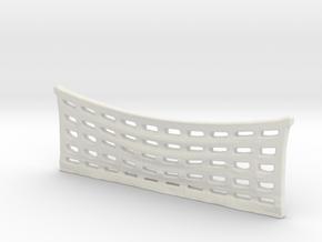 1/87 Hosebed Net in White Natural Versatile Plastic