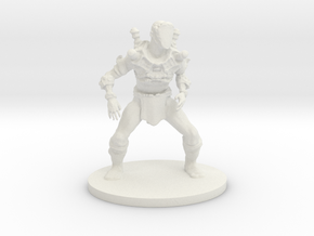 Steam Punk Zombie in White Natural Versatile Plastic