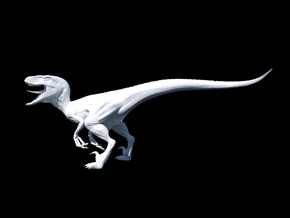Jurassic Park Raptor v2 1/35 scale in Smooth Fine Detail Plastic