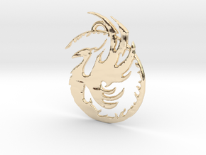 Phoenix 1 in 14k Gold Plated