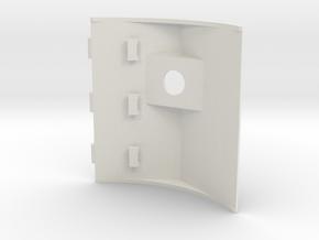 1/16 M31 Fake Gunt Mount. in White Natural Versatile Plastic