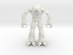 Razor Suit in White Natural Versatile Plastic