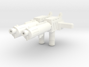 TR: Highpistol for Highbrow in White Processed Versatile Plastic