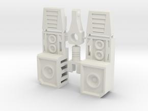 TR: Sonic kit for Mindwipe in White Natural Versatile Plastic