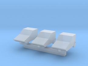 1/450 Bond Bug x3 in Smooth Fine Detail Plastic