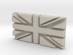 British flag in Natural Sandstone