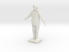 Printle C Homme 695 - 1/87 in White Strong & Flexible