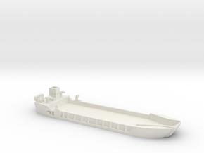 1/285 Scale LCT-5 in White Natural Versatile Plastic