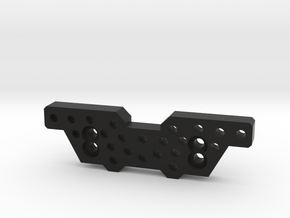 Yj-Front Shock Upper Bracket in Black Natural Versatile Plastic
