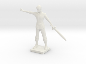 Printle C Homme 654 - 1/72 in White Strong & Flexible