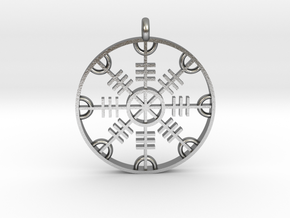 Helm of Awe in Natural Silver