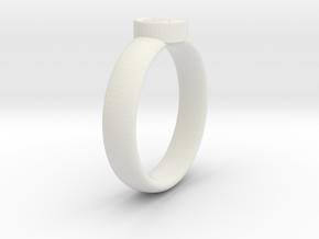 Ring - Windows Logo in White Natural Versatile Plastic