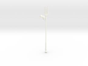 Mog Fork - FFXIV in White Processed Versatile Plastic