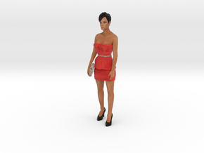 Rihanna 3D Model ready for 3d print in Full Color Sandstone
