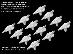 (Armada) 12x Delta-7  in Smooth Fine Detail Plastic