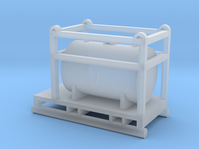 1:64 550 Gallon Skid Fuel Tank  in Smooth Fine Detail Plastic
