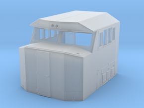 "SD60E ""Crescent"" Cab (S Scale) in Smooth Fine Detail Plastic"