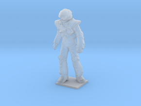 1/60 Macross Pilot in Space Suit in Smooth Fine Detail Plastic