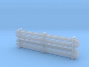 Schraubenreihen (8 Stück) in Smoothest Fine Detail Plastic