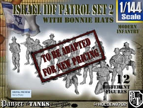 1-144 IDF BONNIE PATROL SET 2 in Transparent Acrylic