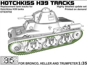 ETS35T02 Hotchkiss H39 Tracks [1:35] in Frosted Extreme Detail