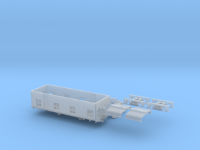 CNJ 1000 For Bachmann 44 Ton Switcher Frame in Smoothest Fine Detail Plastic