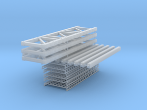 Pallet Rack 3 High-2 Wide in Frosted Ultra Detail