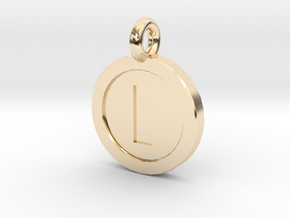 Mario Coin Pendant/Keychain in 14K Yellow Gold