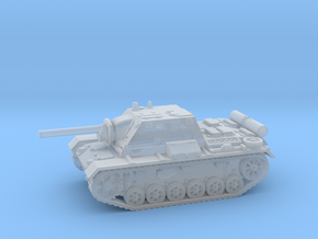 SU - 76i tank (Russian) 1/200 in Smooth Fine Detail Plastic