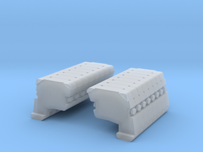 AC 500 12: Ballast 8L+R Block in Smooth Fine Detail Plastic