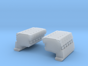 AC 500 13: Ballast 6L+R Block in Smooth Fine Detail Plastic
