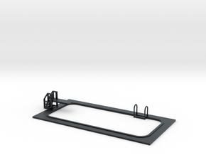 15mm Swimming Pool (Rectangular) in Black Hi-Def Acrylate