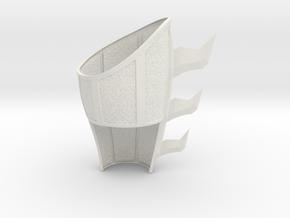 Batman Begins- Bruce training R gauntlet Pt. 1 in White Natural Versatile Plastic
