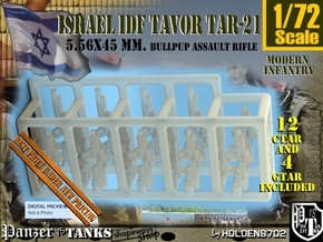 1-72 Ctar-Gtar 16 Units Tavor SET in Smoothest Fine Detail Plastic