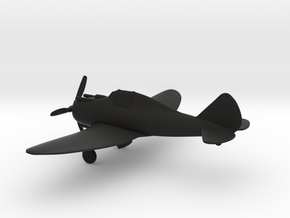 Republic EP-1 / Seversky P-35 in Black Natural Versatile Plastic: 1:108