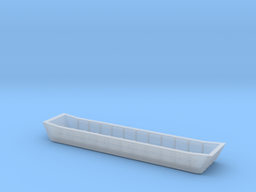 1/87 Scale Bridge Pontoon in Smooth Fine Detail Plastic