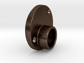METAL m19 scope front in Polished Bronze Steel