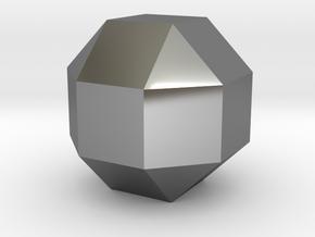Perfect diamond in Premium Silver