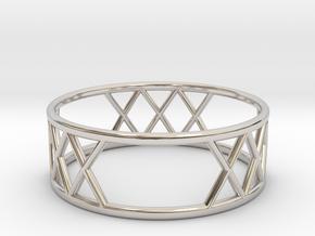 XXX Ring Size-10 in Platinum