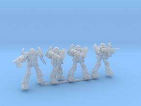 A1B Bulldog squad in Smooth Fine Detail Plastic