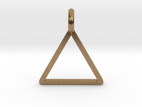Triangle in Natural Brass