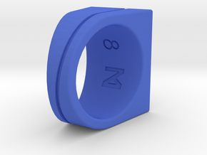 Miz.NK Ring NO.86 Inspired by Bridges between all in Blue Processed Versatile Plastic: 8 / 56.75