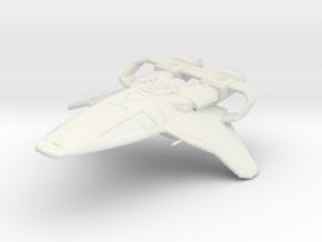 STARFLEET FIGHTER in White Strong & Flexible