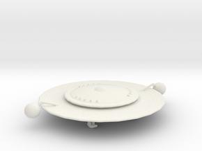Kzinti Starship in White Natural Versatile Plastic