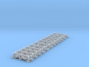 Mig 29K Set, 24 pc, 1/1800 in Smooth Fine Detail Plastic