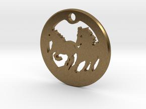FREEDOM (precious metal pendant) in Natural Bronze