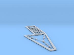 1/72 rigging Isolator Set in Smoothest Fine Detail Plastic
