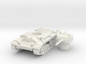 Valentine tank (British) 1/87 in White Natural Versatile Plastic