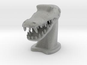 Crocodile in Metallic Plastic